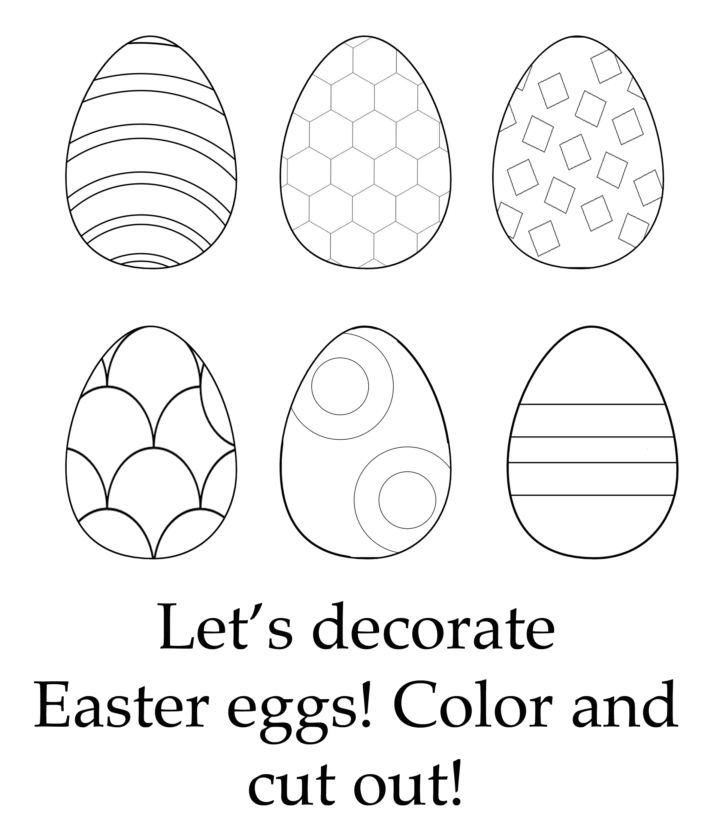 What goes together what doesn t belong fun worksheets and cut and - Easter Color 2 Jpg
