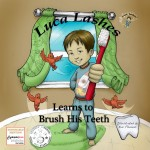 Luca Lashes Learns to Brush His Teeth