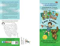 Luca Lashes Spanish Brochure