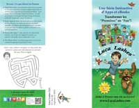 Luca Lashes French Brochure